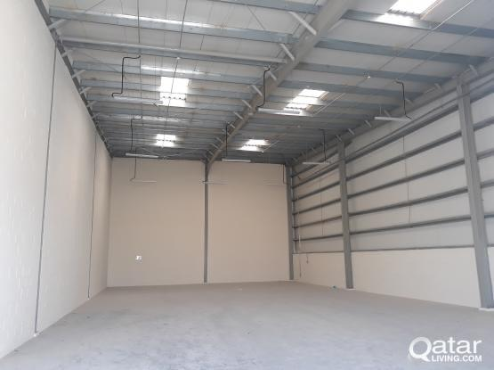 300 Sqm Brand New Warehouse for Rent in Qatar
