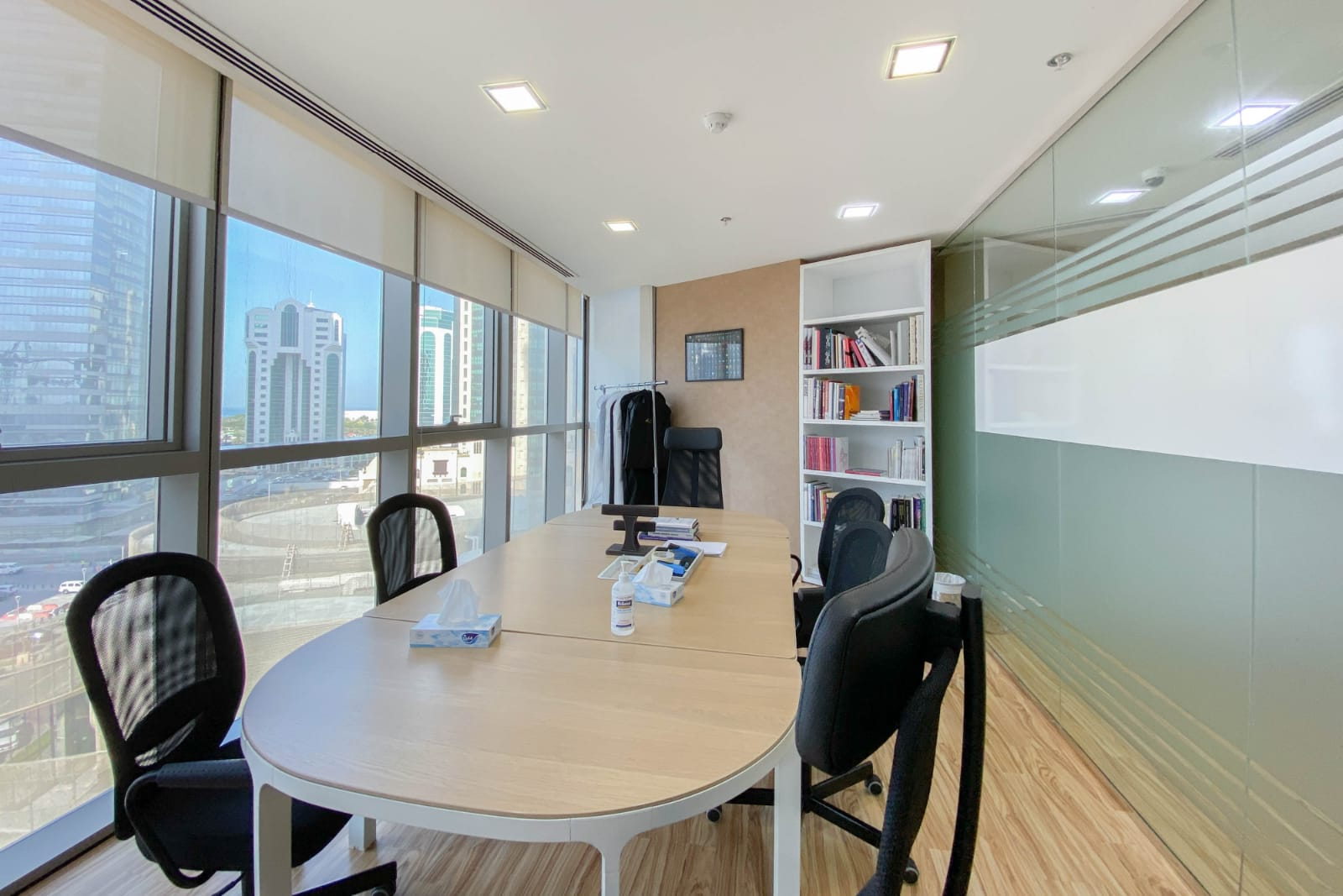 230 Sqm Excellent Office for Rent in Palm Tower West Bay